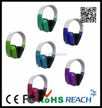 bright colorful electroplating headphone for computer