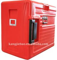 Red color Insulated Food Container for food pan