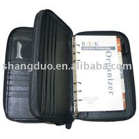 Diary wallet, notebook,