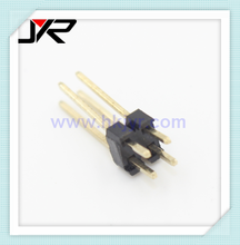 2.0mm pitch 90 degree pin header double row double plastic PBT pin header, male connector 4p 6p 8p 10p 12p 14p 16p 18p 20p 26p