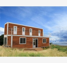 container Australia container 20ft two floor eco prefab cabin houses in Pakistan