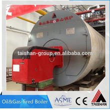 Fire Tube Natural Gas And Diesel Fired Hot Water Boiler