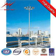 Q235 Steel galvanized 15m 20m 30m high mast lighting tower with good price,nice design