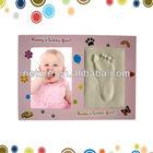 Hotsale brinquedos do presente do bebê handprint arte kit