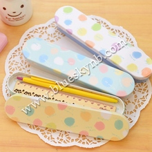 Metal Tin Pencil Boxes, Tin Boxes School Office Supplies (BLY16-0023PT)