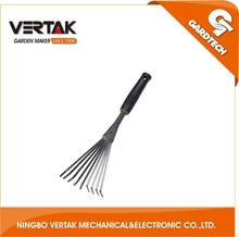 QC department offer you high quality&safty products, plastic handle leaf rake as seen on tv