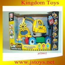 nuevo juguete de los cabritos, rc camiones de juguete excavadora para mayoristas