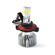 40 Watt 3600LM IP68 H4 COB LED Car Headlight Bulbs / LED Auto Head Lights High Low Beam