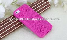 High quality cute Silicone case for iphone 5(Have stock)