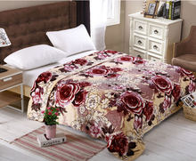 Milk Rose ! 2014 new polyester solid/printed fleece mora blanket factory china/throw/quilt