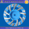 Brazed welded alternated segments diamond cup griding wheel
