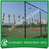 24 Years factory green pvc coated chain link fence for gym