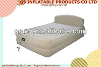 PVC inflatable comfortable inflatable bed with frame EN71 approved