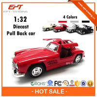 Hot selling antique 1 32 diecast metal vintage model car for sale