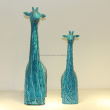 China import decorative giraffe ceramic arts and crafts