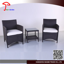 High End Economic Good Looking Outdoor Furniture Rattan Bar Table And Bar Stool