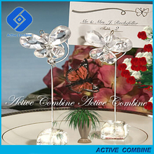 great and event rehearsal dinner desk decoration crystal butterfly place card holders