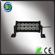 Aluminum housing 36w epistar led light bar for car lighting