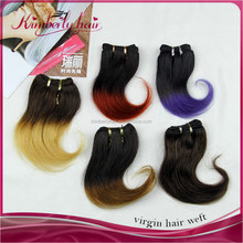 Kimberlyhair Thick Ends !Factory Price 100% Virgin Colored Brazilian Hair Weave