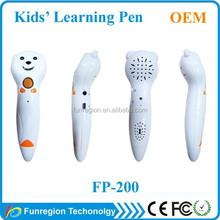 2015 Hot selling Smart talking pen for Children education English Arabic learning