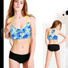 Factory OEM 2015 hot sale custom girl seamless hot sexy xxxx sports bra