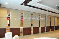 High Quality SGS/CE MDF Noise Reduction Hotel Partition Wall Panel For Office