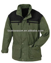 Winter green men clothing for hunting