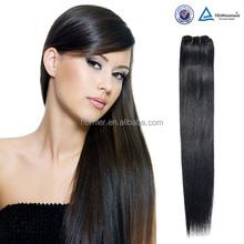 Wholesale Aliexpress Hair Kinky Straight Natural Color 100% Virgin Malaysian/Brazilian/Mongolian Kinky Straight Yaki Hair Weave