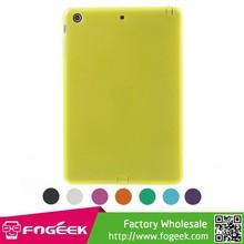 Fashion Double-side Matte TPU Case for iPad Mini / Mini 2 w/ Dust-proof Plug