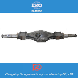 Truck spare parts rear axle housings for Dongfeng truck
