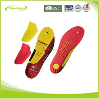 Custom PU sport insole with massage function
