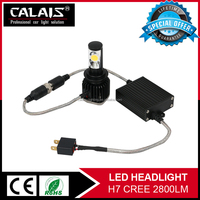 High Power Auto h7 led work light Super Brightness led car head lights with CE ROHS certificate