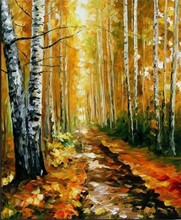 traditional country drawings,knife oil paintings for decoration