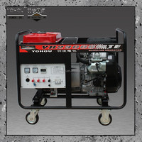 Strong power low fuel consumption 3 phase 18kvA Gasoline backup power generator