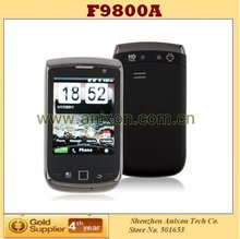 (F9800A) Android 2.3 OS Smart Phone TV WiFi 2.8 Inch Touch Screen QWERTY Slide Phone