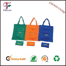 Foldable canvas supermarket logo printing shopping bags