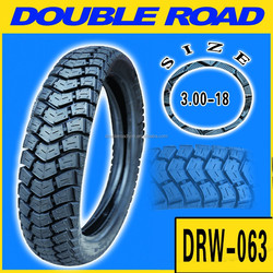 High quality cheap motorcycle tubeless tyres 3.00-18