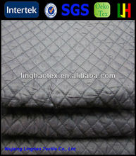PU coating manufacturers free patterns double faced quilted fabric