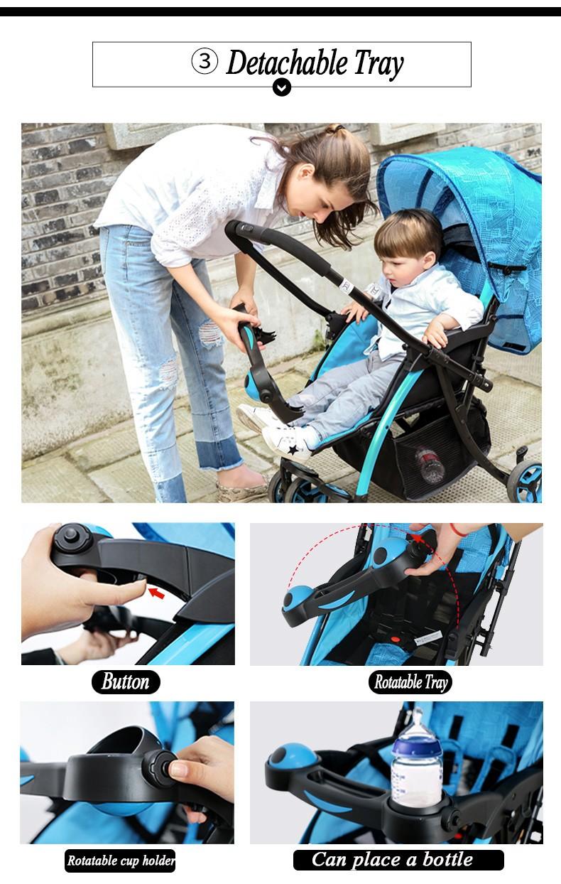 hot baby stroller