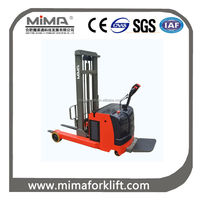 MIMA 24V small battery reach forklift truck with cheaper price TFA series