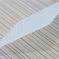 polycarbonate sheet 1mm Grade A soundproof 12mm greenhouse uv plastic pc polycarbonate solid sheet polycarbonate flat sheet
