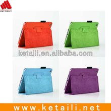 New leather case for ipad mini factory passed B&V ISO9001