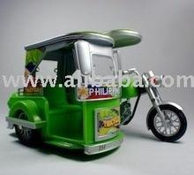 Die-Cast Metal Miniature Tricycle