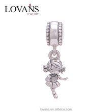 Silver Jewelry For Wholesale Handmade Jewelry Changeable Charm Bracelet S150