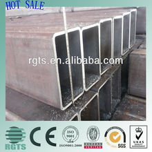 Hollow square steel tube/150x150 steel aquare pipe /pipline construction companies in china