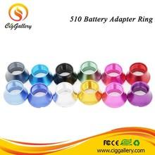 Qualified 510 eGo connector e cig o ring decrative ring e cig ego to ego 510 atomizer adapter