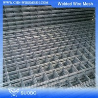 Hot sale!!!10 Gauge Galvanized Iron Welded Wire Mesh Panel 50X50(manufacturer)