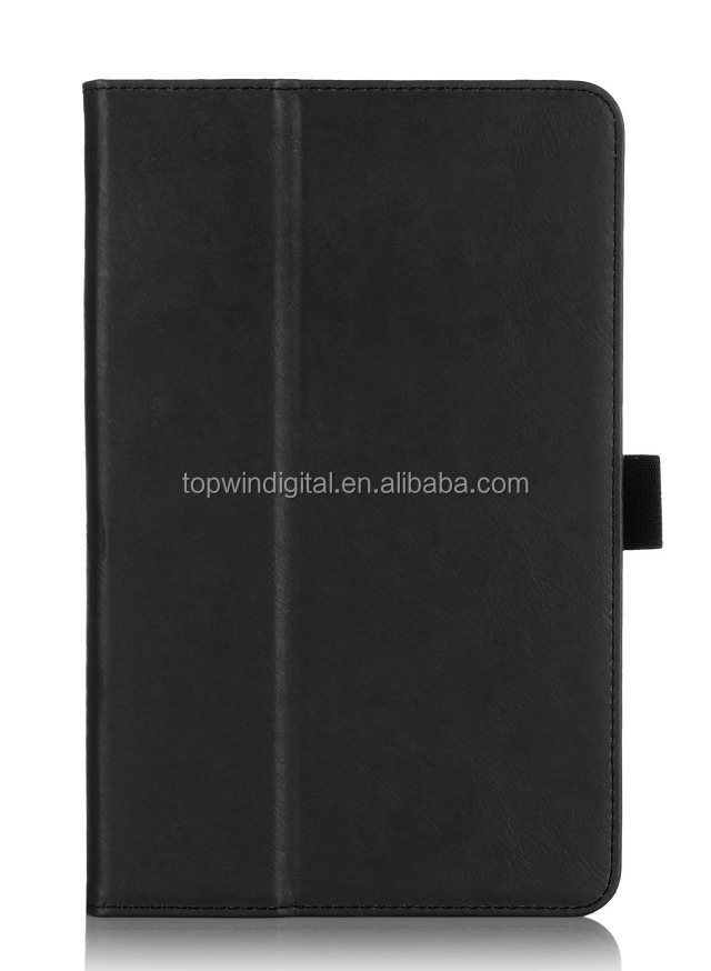 For Lenovo A5500 Leather Case Cover PU Flip Case With Card Holder