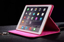 Stand flip leather case for ipad air, for ipad air tablet accessories