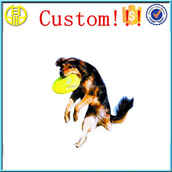 bulldog intensification frisbee wholesale /made in China /non-toxic plastic